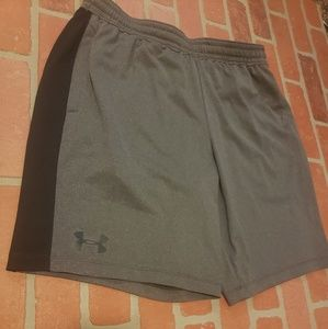 Mens Under Armour Grey Shorts